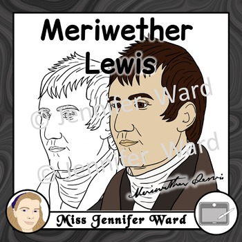 Meriwether Lewis Clipart