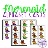 Mermaid Alphabet Cards