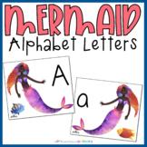 Mermaid Alphabet Letter Cards