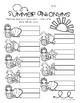 Mermaid / Summertime: Antonyms Match Center (Basic)