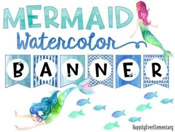 Mermaid Banner