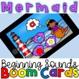 Mermaid Beginning (initial) Sounds- Phonics Boom Cards