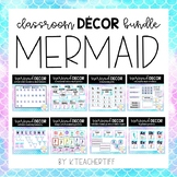 Mermaid Classroom Decor Bundle