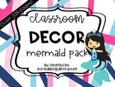 Mermaid Classroom Decor Pack