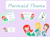 Mermaid Classroom Theme