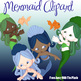 Mermaid Clip Art - IWB Friendly & CU OK Clipart for Teachers