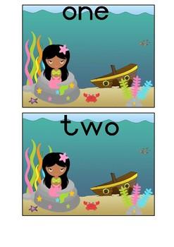 Mermaid Counting Mats