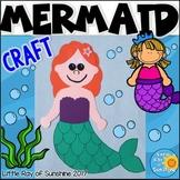 Mermaid Craft for Ocean or Under the Sea Themes