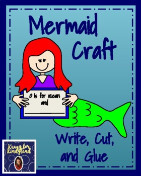 Letter O is for Ocean: Mermaid Craft