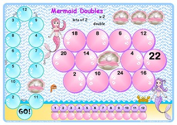 Mermaid Doubles to 24 Game