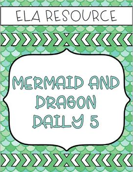 Mermaid/Dragon Daily 5 Board