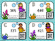 Mermaid Expanded Form Task Cards with QR Codes