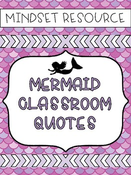 Mermaid Inspirational Quotes
