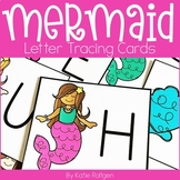 Mermaid Letter Tracing Cards