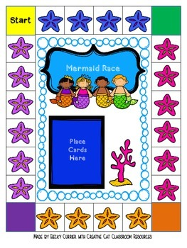 Mermaid Math Games- Subtraction