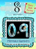 Mermaid Number Clip Art