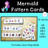 Mermaid Pattern Cards