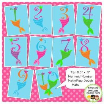 Mermaid Printable Activities for Preschool and Kindergarten