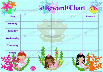 Mermaid Reward Chart