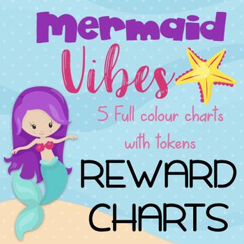 Mermaid Reward Charts - Positive Reinforcement Strategy