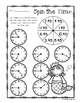 Mermaid - Spin the Time: Telling time :15 (quarter past) / :45 (quarter to)