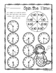 Mermaid - Spin the Time: Telling time to the :00 (o'clock) / :30 (half hour)