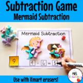 Mermaid Subtraction Activity