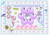 Mermaid Subtraction Number Bonds to 10