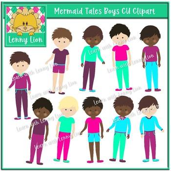 Mermaid Tales Boys Clipart