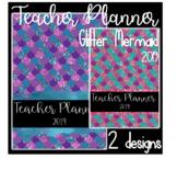 Mermaid Teacher Planner 2019