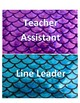 Mermaid Theme Classroom Jobs