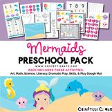 Mermaid Theme Unit Activities (Preschool or Homeschooling)
