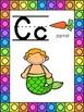 Mermaid Themed Alphabet Posters