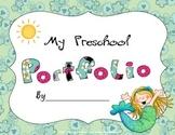 Mermaid Themed Preschool Portfolio