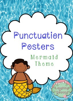 Mermaid Themed - Punctuation Posters