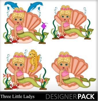 Mermaid With Blonde hair 2
