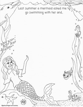 Mermaid Writing Prompt Bundle