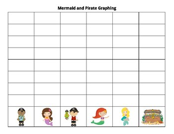Mermaid and pirate graphing