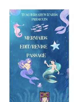 Mermaids: Edit/Revise STAAR Prep Passage