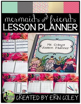 Mermaids & Friends: Pretty Little Lesson Planner