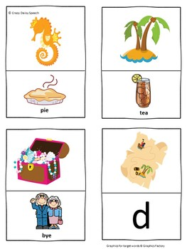 Mermaids and Pirates: Minimal Pairs Cards for Prevocalic Voicing