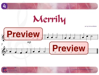 Merrily Flute And Oboe MP3 And PDF Unit 4.