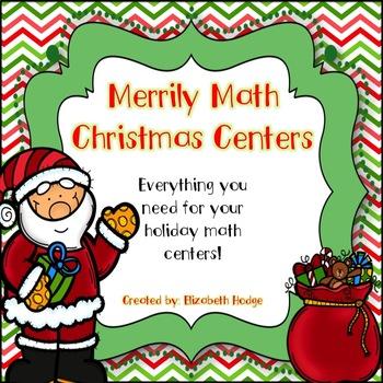 Merrily Math Christmas Centers