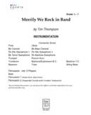 Merrily We Rock in Band - 1st Year Band
