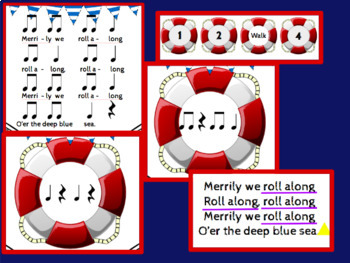 Merrily We Roll Along: A Song for Beginning Music & Recorder