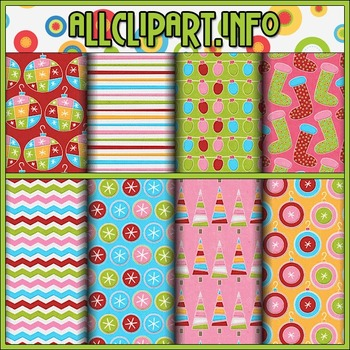 Merry & Bright Digital Papers