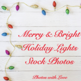 Holiday Stock Photos l String of Lights