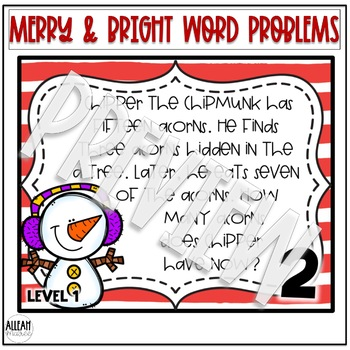 Multistep Word Problems {Merry & Bright}