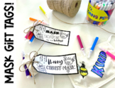 Merry Christ-MASK - Can't MASK My Excitement Gift Tag | Di