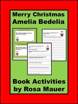 Merry Christmas (Amelia Bedelia #10) Book Unit